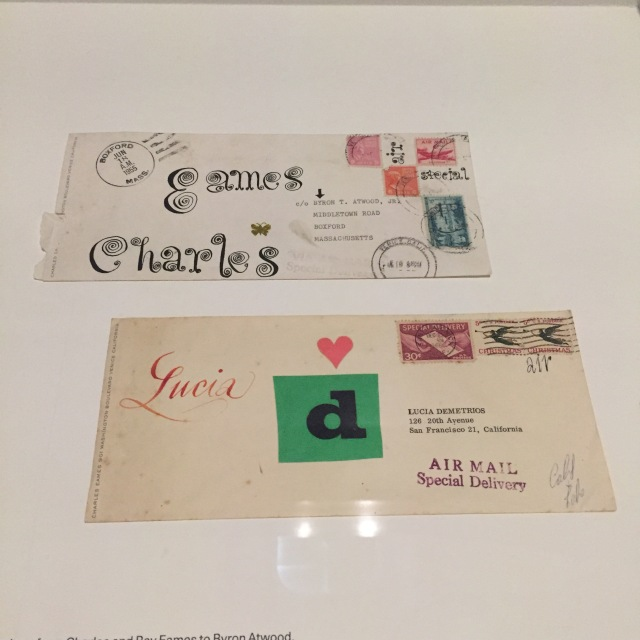 The world of Ray and Charles Eames_letters