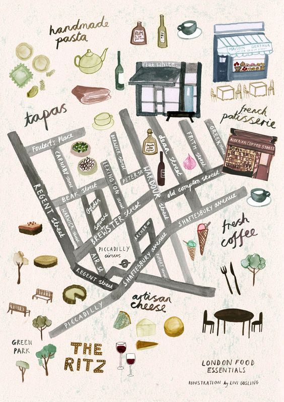 London food map