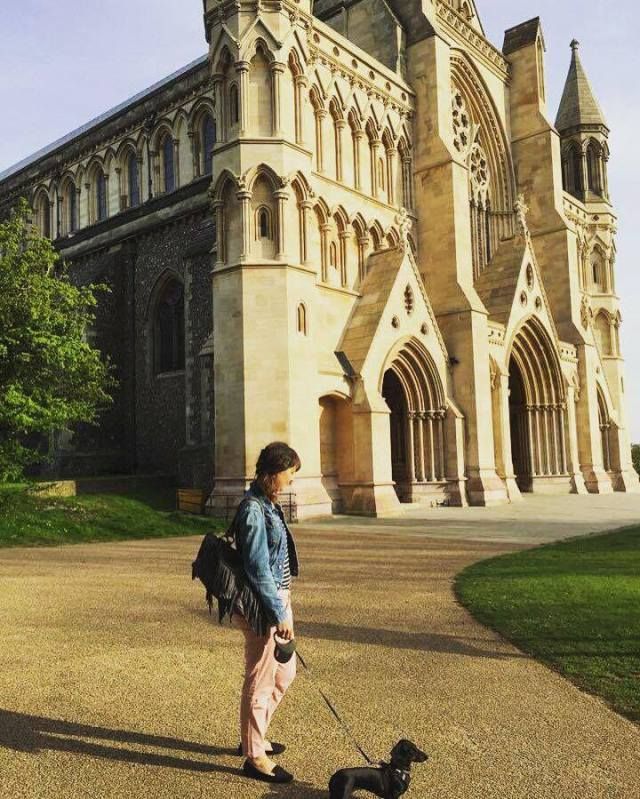 S og Fru B v katedral